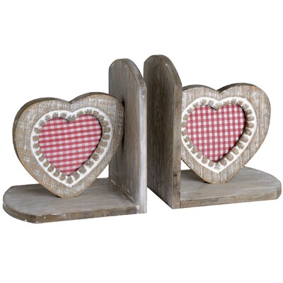 Hill Interiors Heart Bookend