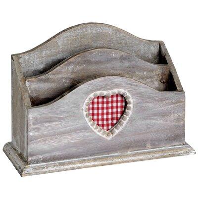 Hill Interiors Heart Letter Rack