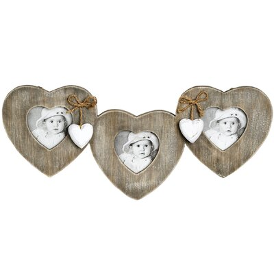 Hill Interiors Hanging Hearts and Bows Picture Frame