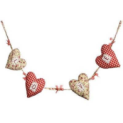 Hill Interiors Hanging Love Hearts Wall Decor