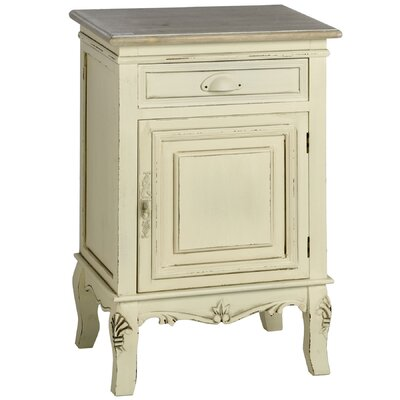 Hill Interiors Country 1 Drawer Bedside Table
