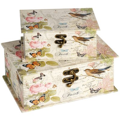 Hill Interiors Butterfly Box
