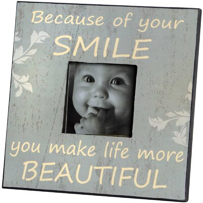 Hill Interiors Smile Picture Frame