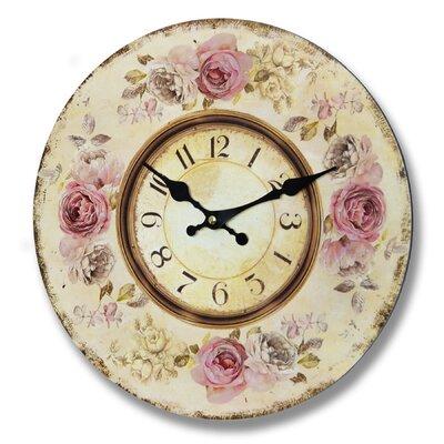 Hill Interiors 34cm Roses Clock