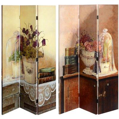 Hill Interiors 120cm x 180cm Shabby Elegance Living 3 Panel Room Divider