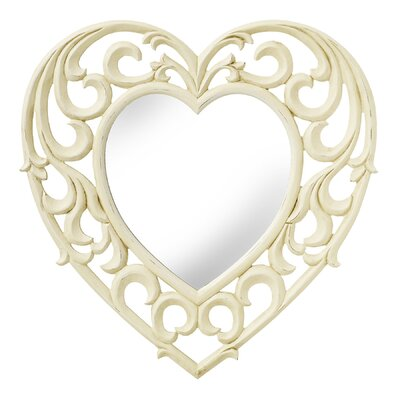 Hill Interiors Amelia Heart Wall Mirror