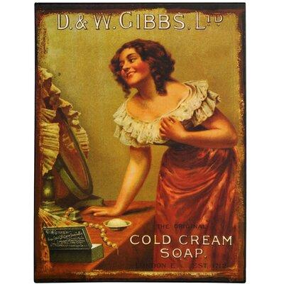 Hill Interiors D and W Gibbs Ltd Vintage Advertisement Plaque