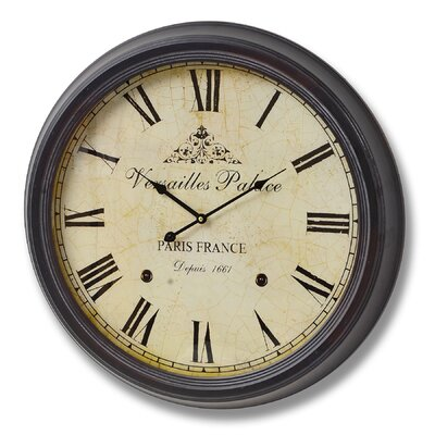 Hill Interiors Versailles Oversized 62cm Palace Wall Clock