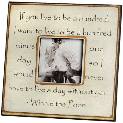 Hill Interiors Winnie the Pooh Picture Frame