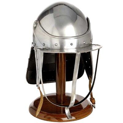 Hill Interiors Decorative Civil War Lobster Pot Helmet on Stand