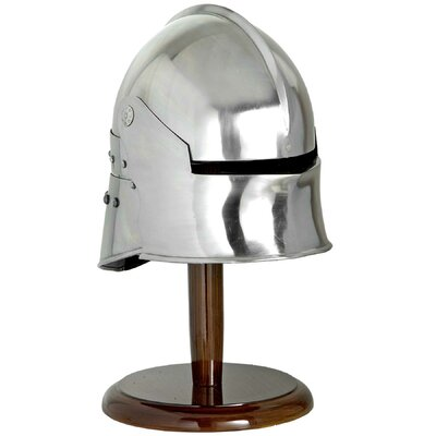 Hill Interiors Decorative Sallet Helmet on Stand