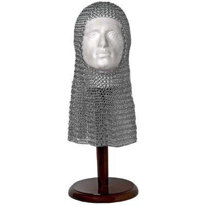 Hill Interiors Chain Mail Bust