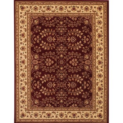 Couristan Anatolia Antique Herati Red Area Rug