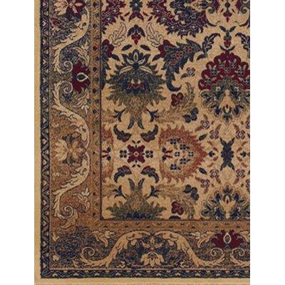 Anatolia persian royal plume cream plum area rug wayfair for Plum and cream rug