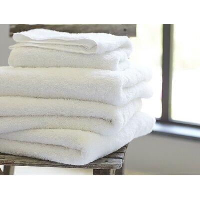 Cloud Loom 100% Cotton Hand Towel Color: Alpine White