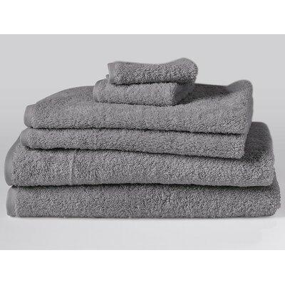Cloud Loom 100% Cotton Hand Towel Color: Slate