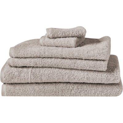 Cloud Loom 100% Cotton Bath Towel Color: Dune
