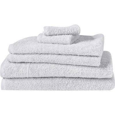 Cloud Loom 100% Cotton Bath Towel Color: Alpine White