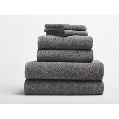 Air Weight Bath Rug Color: Slate