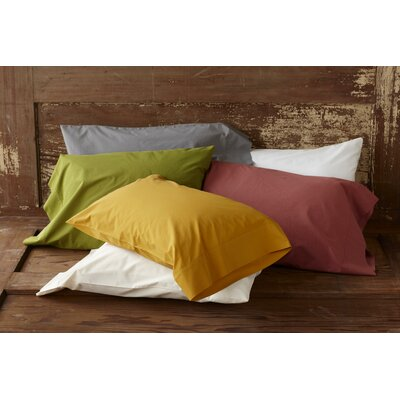 Coyuchi Percale 220 Thread Count Pillowcase (Set of 2)