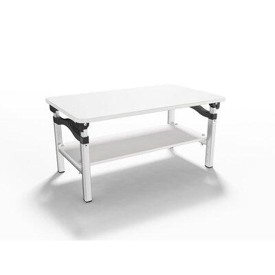 "20"" H x 26.5"" W Standing Desk Conversion Unit Finish: White"