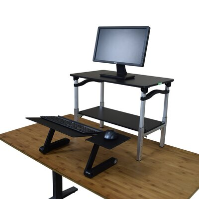 "LIFT 20"" H x 26.5"" W Standing Desk Conversion Unit Finish: Black"