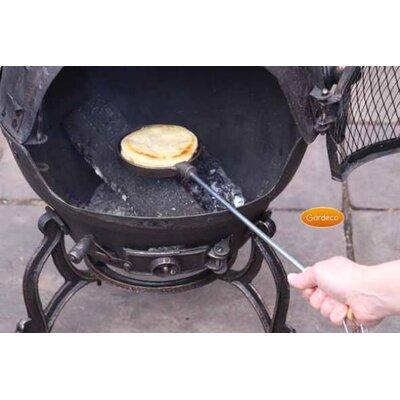 Gardeco Cast Iron Pancake Pan with Long Handles