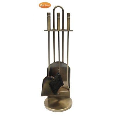 Gardeco 3 Piece Brass Effect Set