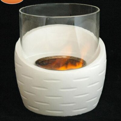 Gardeco Half Vase Gel Fuel Fireplace