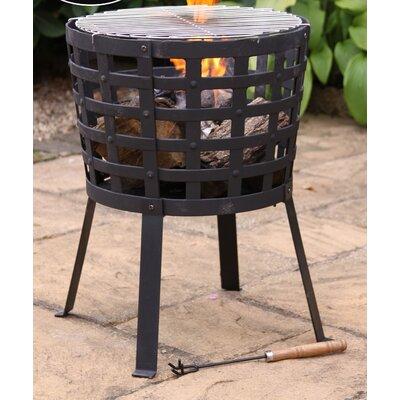 Gardeco Aragon Cast Iron Charcoal Fire Pit