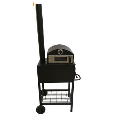 Gardeco Forno Stainless Steel Wood Outdoor Fireplace