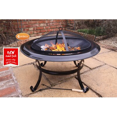 Gardeco Cassiopea Steel Fire Pit