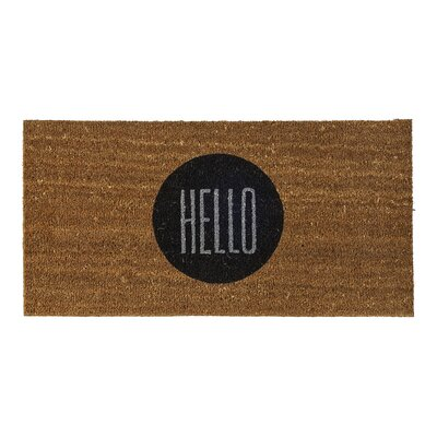 Bloomingville Hello Doormat