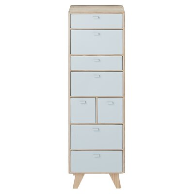 Bloomingville 8 Drawer Chest of Drawers