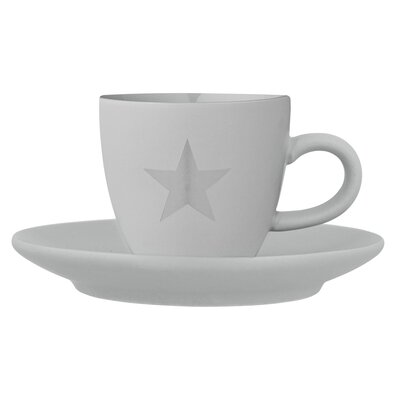 Bloomingville Star Espresso Cup and Saucer