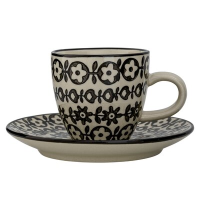 Bloomingville Julie Espresso Cup and Saucer