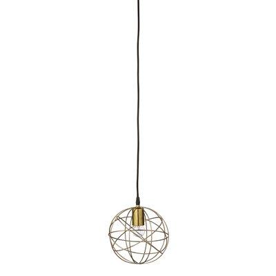 Bloomingville 1 Light Globe Pendant
