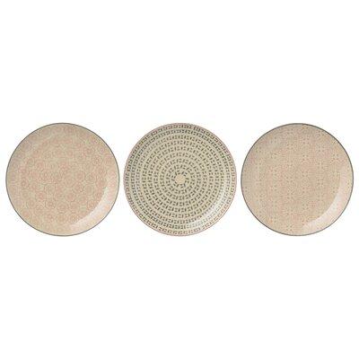 Bloomingville Cecile 16cm 3 Piece Plate Set