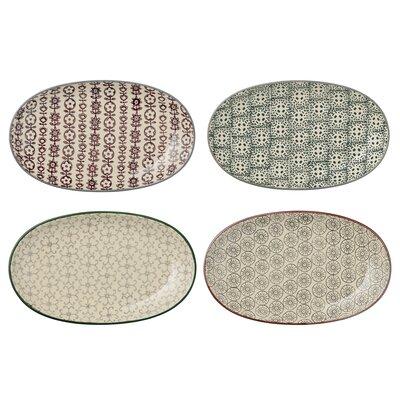Bloomingville Karine 21.5cm 4 Piece Plate Set