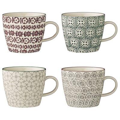 Bloomingville Karine 4 Piece Mug Set