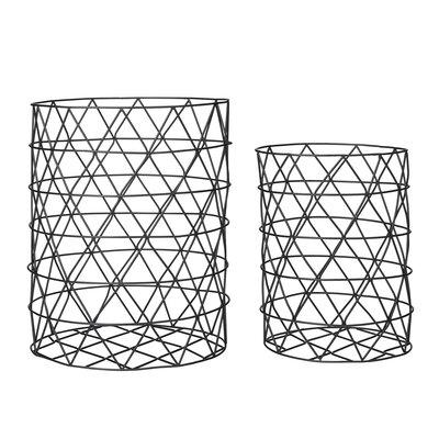 Bloomingville 2 Piece Storage Basket Set