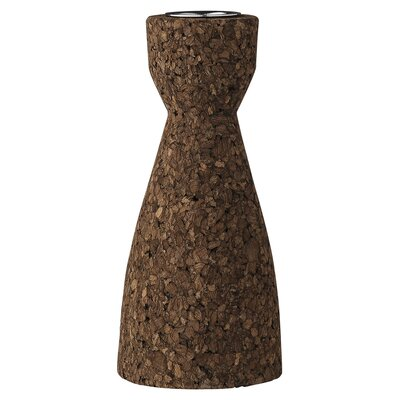 Bloomingville Cork and Metal Candlestick