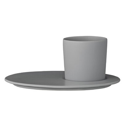 Bloomingville Gitte 2 Piece Plate and Cup Set