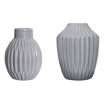 Bloomingville 2 Piece Vase Set