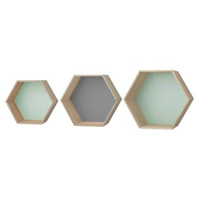 Bloomingville 3 Piece Hexagonal Box Set