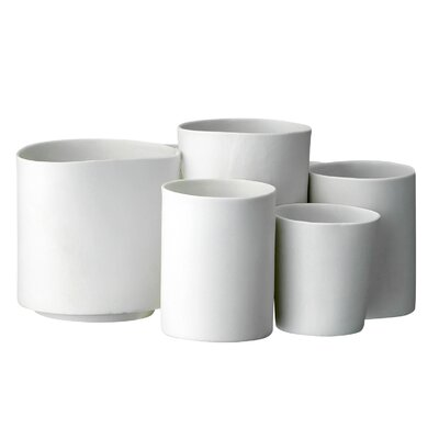 Bloomingville 5 Piece Porcelain Votive Set