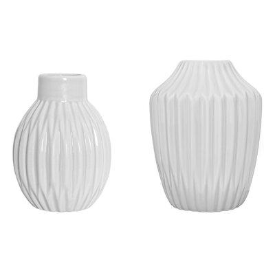 Bloomingville 2 Piece Vase Set