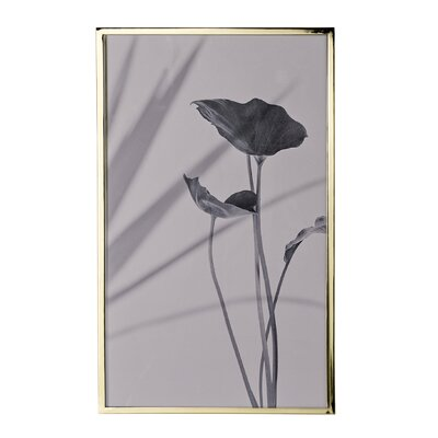 Bloomingville Sooji 'Flower' Framed Graphic Art