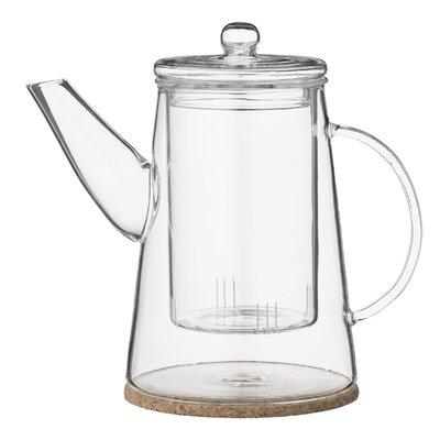 Bloomingville 2 Piece 0.9L Glass Teapot Set