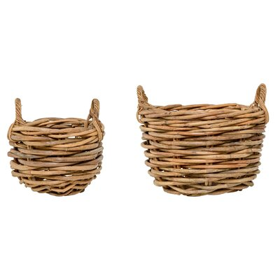 Bloomingville 2 Piece Basket Set